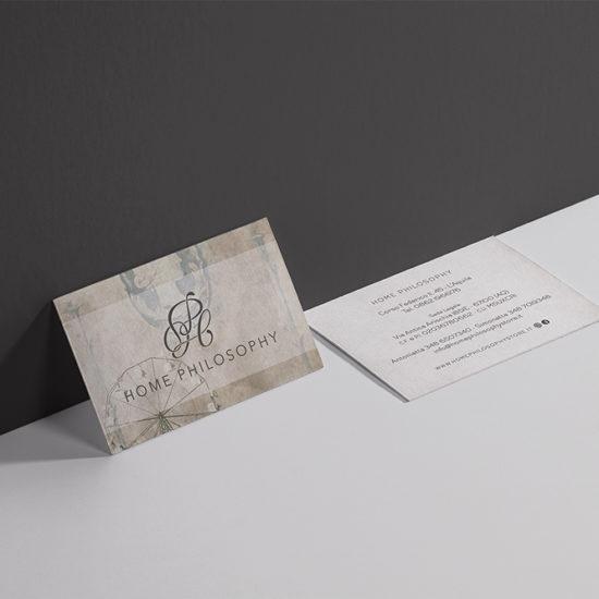 Grafica biglietti da visita L'Aquila