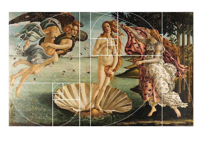 Grafica Sezione Aurea Arte