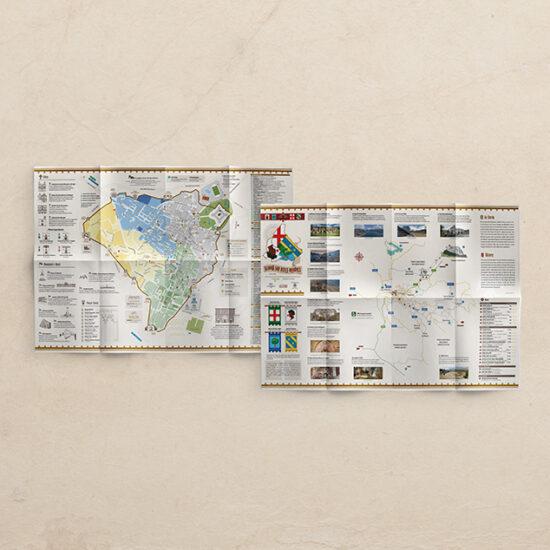 Mappa Turistia Grafica L'Aquila